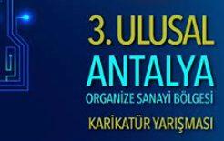 3. Ulusal Antalya OSB Karikatür Yarışması 2018