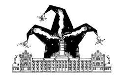 """Uluslararası Karikatür Sergisi """"MANUFAKTURA SATYRY"""", Zyrardow, Polonya 2018"""