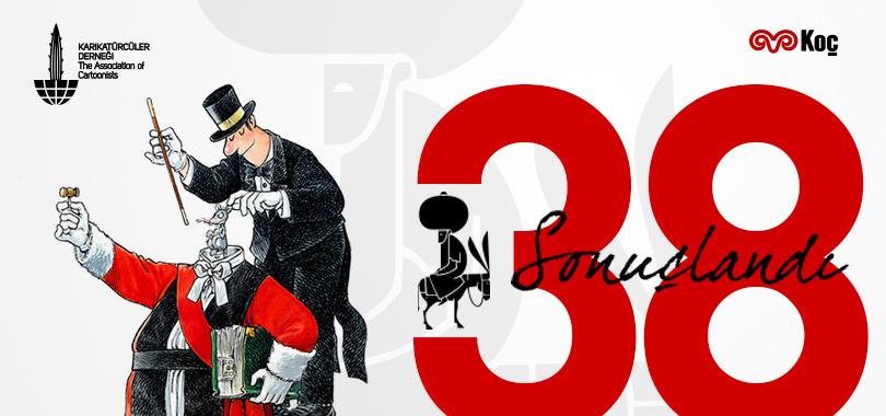 38. Uluslararası Nasreddin Hoca Karikatür Yarışması 2018 Sonuçlandı