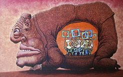 "Volodymyr KAZANEVSKY'nin ""MAD HUMANS"" karikatür sergisi"