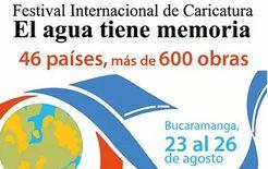 "The results of the International Caricature Festival ""El Agua Tiene Memoria"