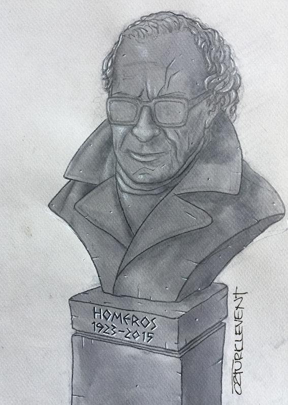 H\u00fcseyin Alparslan - cartoon - NAZIM HIKMET