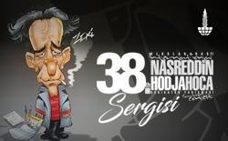 38. Uluslararası Nasreddin Hoca Karikatür Yarışması Karikatür Sergisi, Öznur Kalender ve Raşit Yakalı Karikatür Muhabbeti