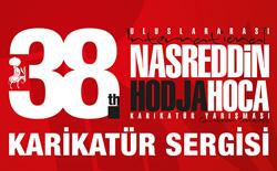 """""""38. Uluslararası Nasreddin Hoca Karikatür Yarışması"""" Karikatür Sergisi"""
