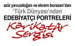 Aziz Yavuzdoğan ve Ekrem Borazan'dan Karikatür Sergisi