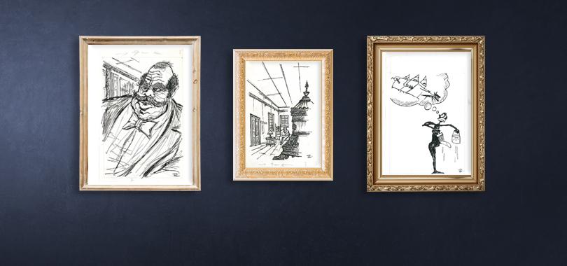 Ferruh Doğan'dan Orijinal Karikatürler