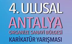 4. Ulusal Antalya Organize Sanayi Bölgesi Karikatür Yarışması 2019
