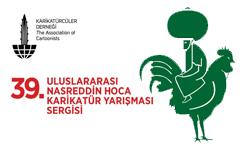 39. Uluslararası Nasreddin Hoca Karikatür Yarışması Sergisi