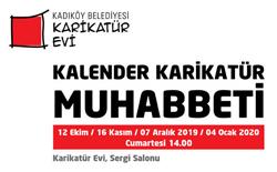 Karikatür Evi'nde 16 Kasım Cumartesi: Kalender Karikatür Muhabbeti