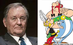 'Asterix'in yaratıcısı İllüstratör ve Yazar Albert Uderzo Öldü