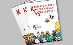 """""""Karikatürlerle Çocuk Hakları Sözleşmesi"""" kitabı yayınlandı…"""