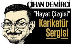 """Cihan Demirci'nin """"Hayat Çizgisi"""" Karikatür Sergisi Kuşadası Seyakmer'de açılıyor…"""