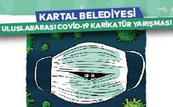 Kartal Belediyesi Uluslararası Covid-19 Karikatür Yarışması 2020