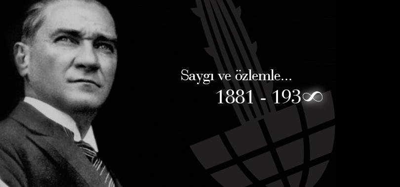 Gazi Mustafa Kemal Atatürk yaşama gözlerini yumdu…