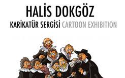 Halis Dokgöz'ün Karikatür Sergisi