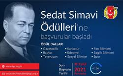 Sedat Simavi Ödülleri'ne Başvurular Başladı…